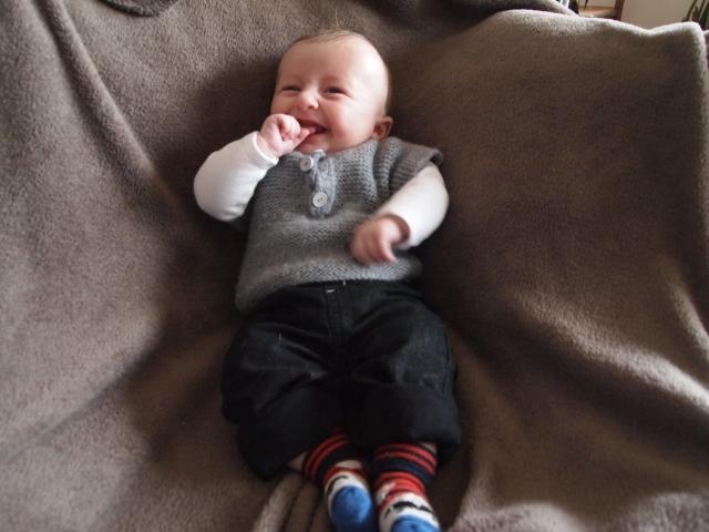 bébé sourire