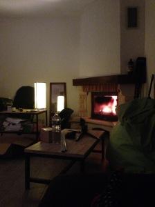 20/03/15 - Premier feu de cheminée