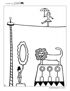 French-Circus-Coloring-Sheet-3-231x300